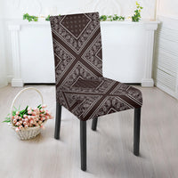 Brown Bandana Dining Chair Cover