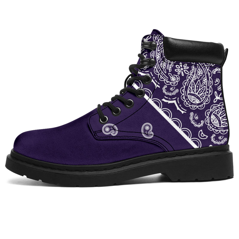 Royal Purple Bandana All Season Boots