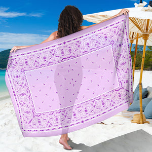 Lavender and Lilacs purple Bandana Sarong