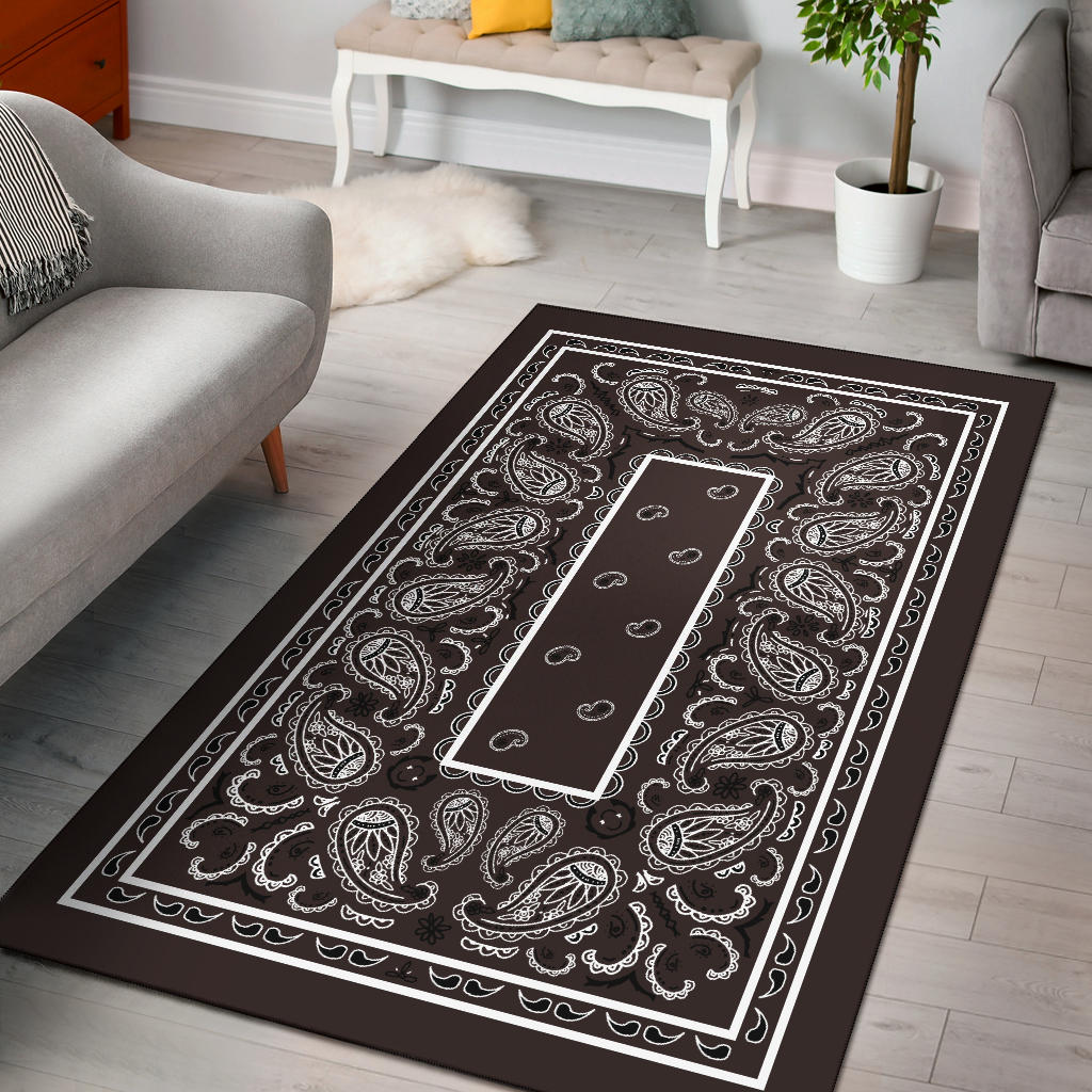 brown room decor rug