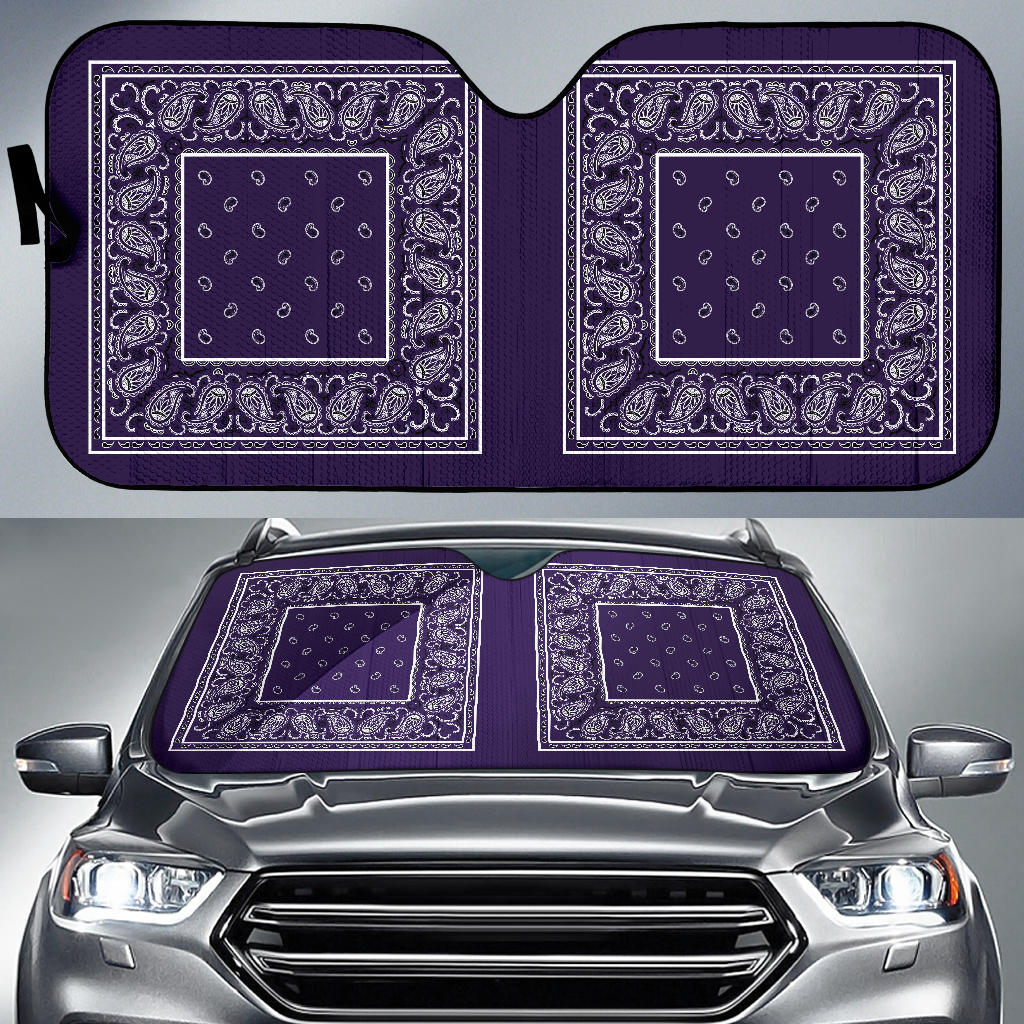 royal purple hot rod window shade