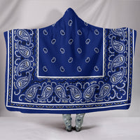 Royal Bandana Hooded Blanket