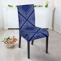 Blue Bandana Dining Chair Covers