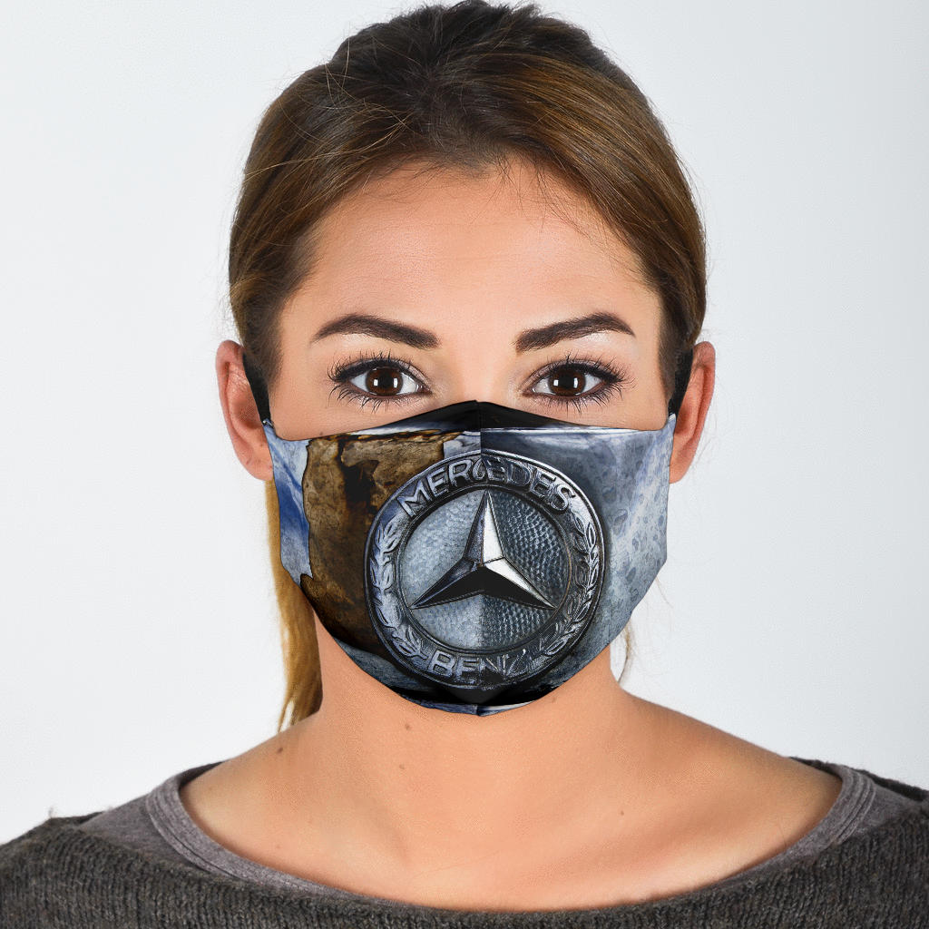 Antique Benz Photo Face Mask with Filters