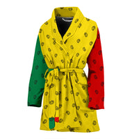 Rastafarian bathrobe for women