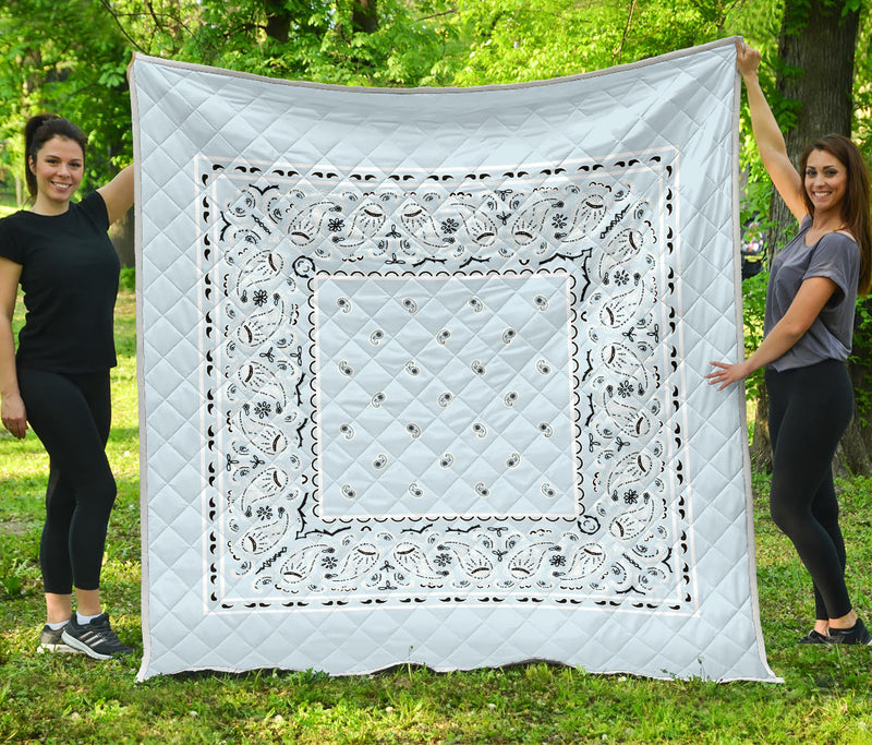 Light Blue Bandana Quilt