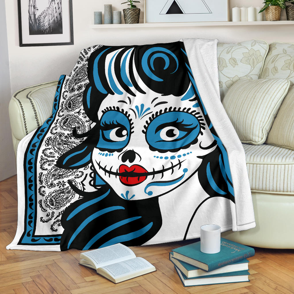 calavera say of dead blanket