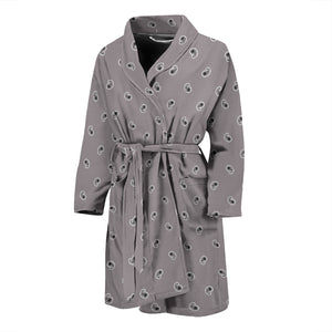 gray bandana bathrobe