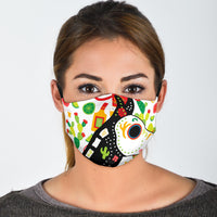 Mexican art covid face masks
