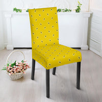 Sunshine Yellow Bandana Dining Chair Covers