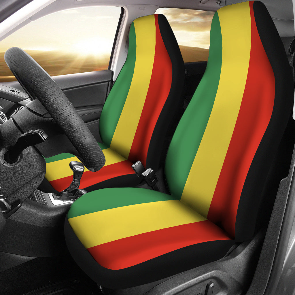 Rasta Bandana Inspired Car Seat Covers