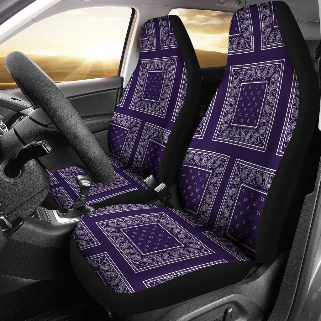 royal purple car seat covers