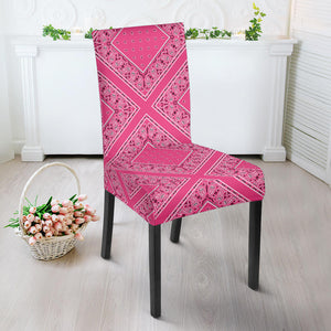 Pink Bandana Dining Chair Covers