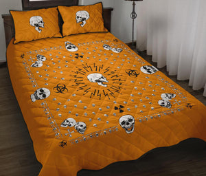 bandana with skulls bedroom decor