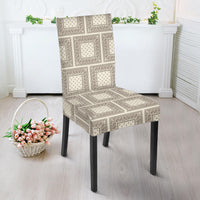 Cream Dining Chair Slipcovers