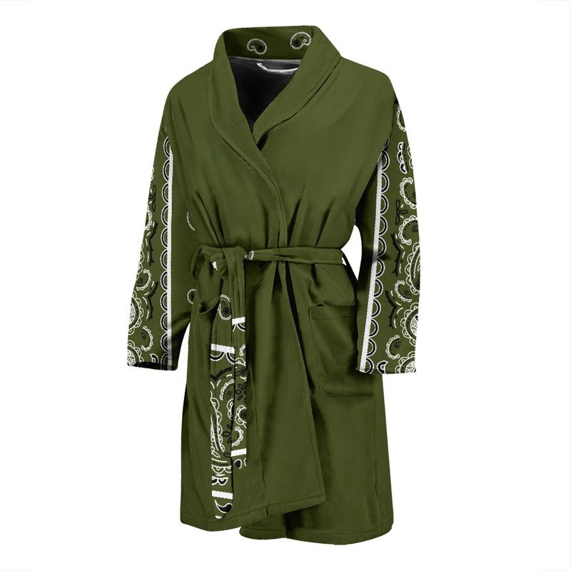 green bandana robe