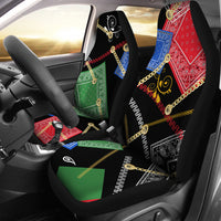 Abstract Bandanas Car Seat Covers