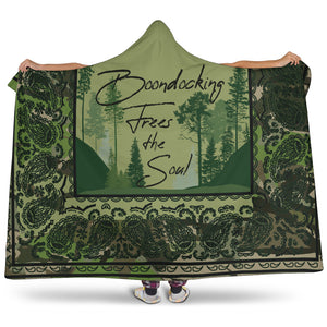 Ultimate RV Boondocking Hooded Blanket
