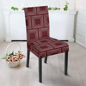 Burgundy Dining Chair Slipcovers