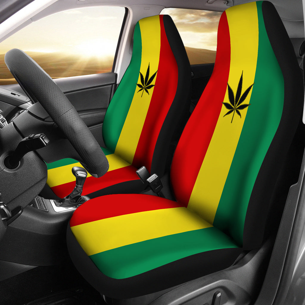 Pot Leaf Car Seat Covers