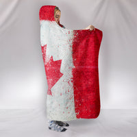 Canada Flag Hooded Blankets
