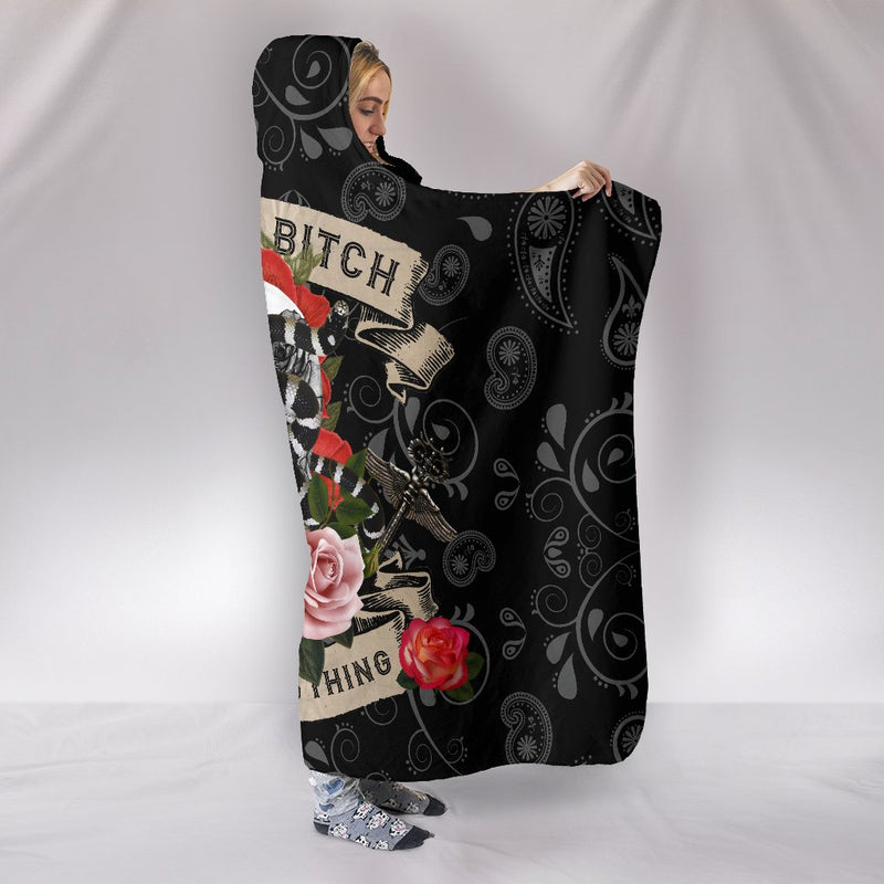 Ultimate Bad Bitch Hooded Blanket