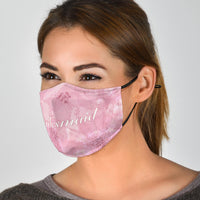 bridesmaid covid mask for wedding party