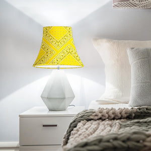 Yellow Bandana Bell Lampshade