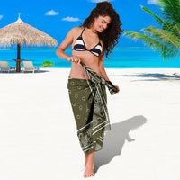 wrapped in sarong