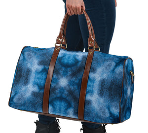 Blue Bohemian Bandana Travel Bag
