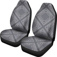 gray seat cover