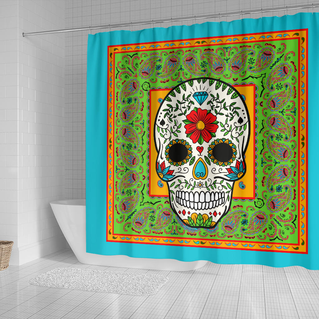 Ultimate Festive Bandana Shower Curtain
