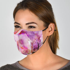 artist flamingo covid face masks