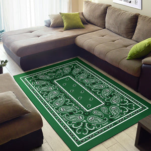 green entryway rugs