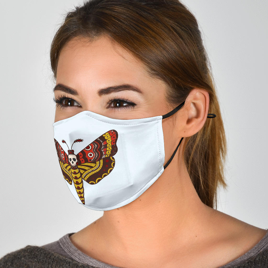 Silence of the Moths Face Mask
