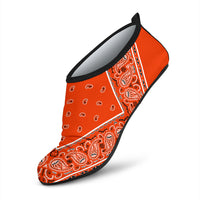 Perfect Orange Bandana Split Water Shoes