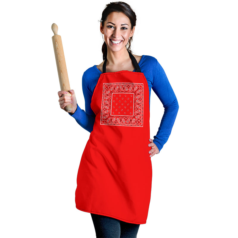 Red Bandana Apron