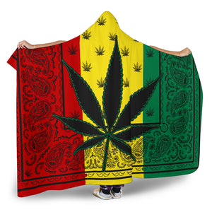 Ultimate Rasta Mary Jane Hooded Blanket