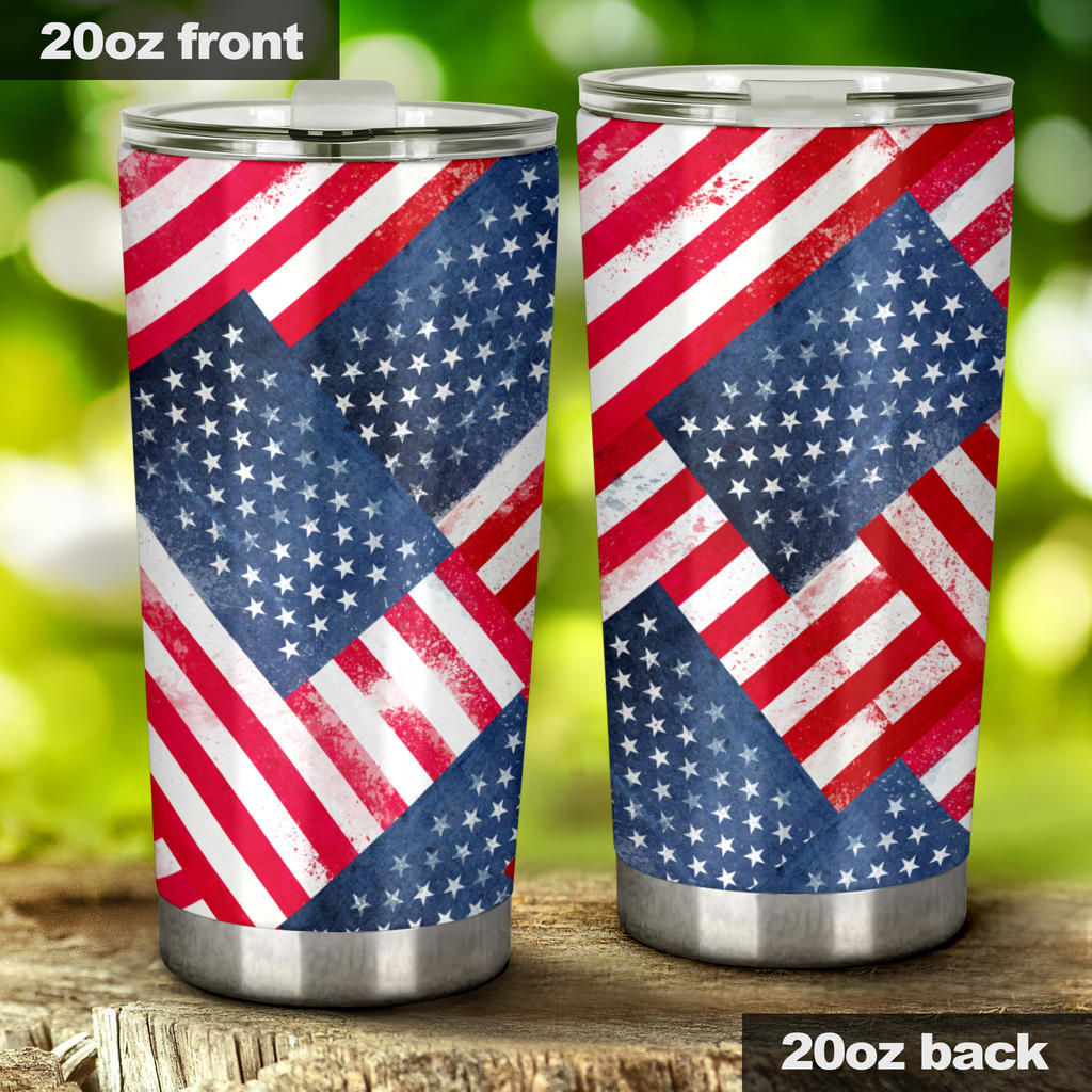 US Flag cups