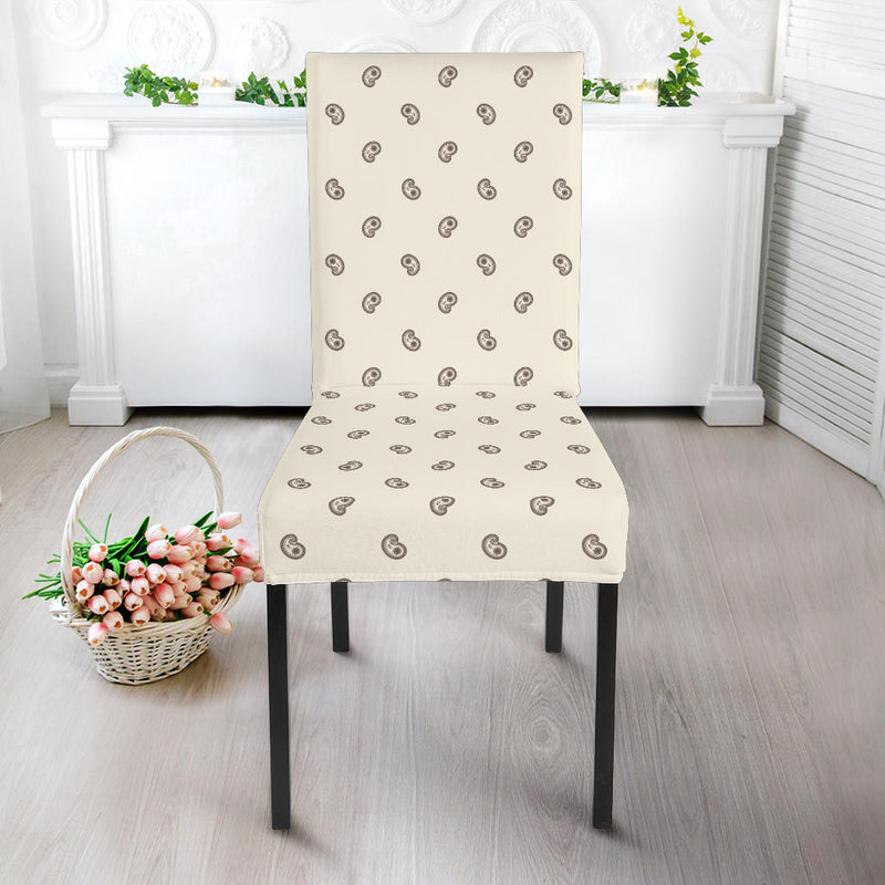 Cream white Dining Chair Slipcovers