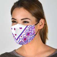 patriotic bandana face mask