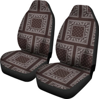 coffee brown seat cover