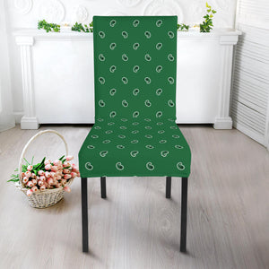 Green Kitchen Chair Slipcovers
