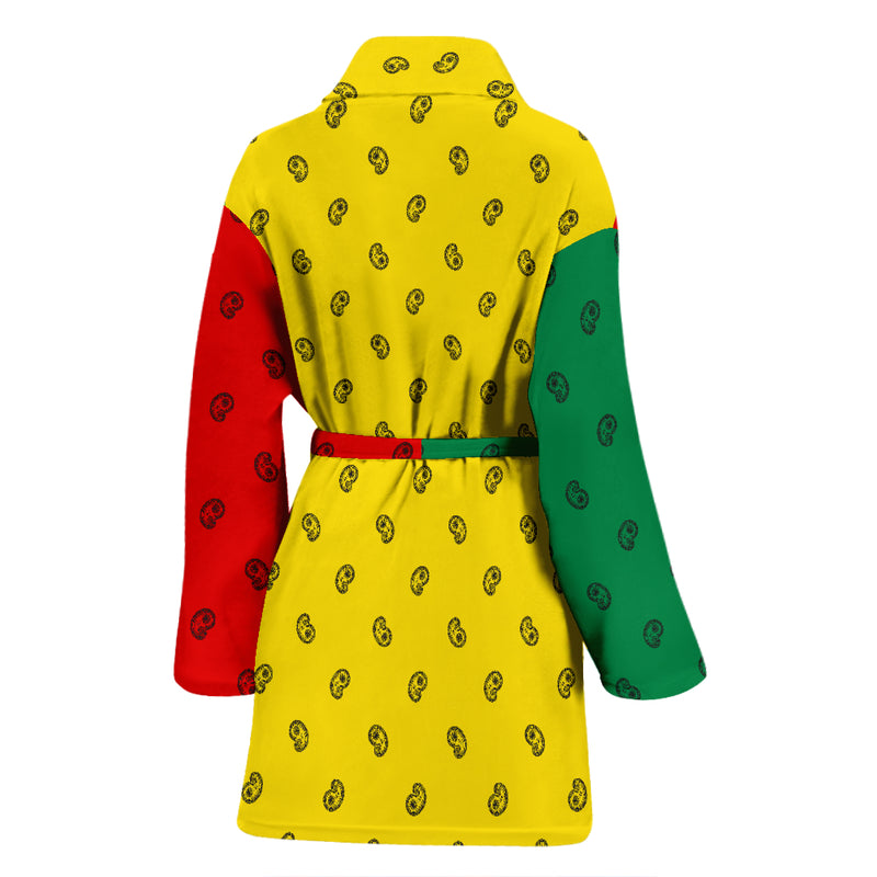 rasta flag bathrobe