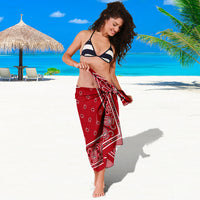 Red Bandana Sarongs