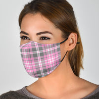 argyle uniform pink covid face masks