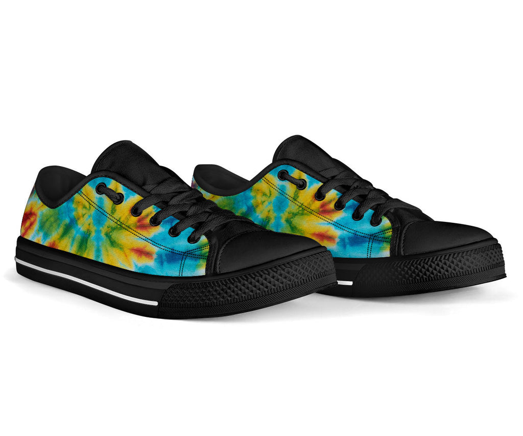 Tie Dye Swirl Bandana Low Top Sneakers