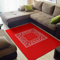 red throw rug