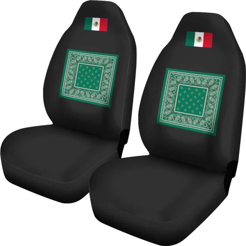 Flag of Mexico Bandana Car Seat Covers