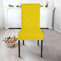 Yellow Kitchen Chair Slipcover